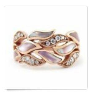 Women's rose gold ring size 9